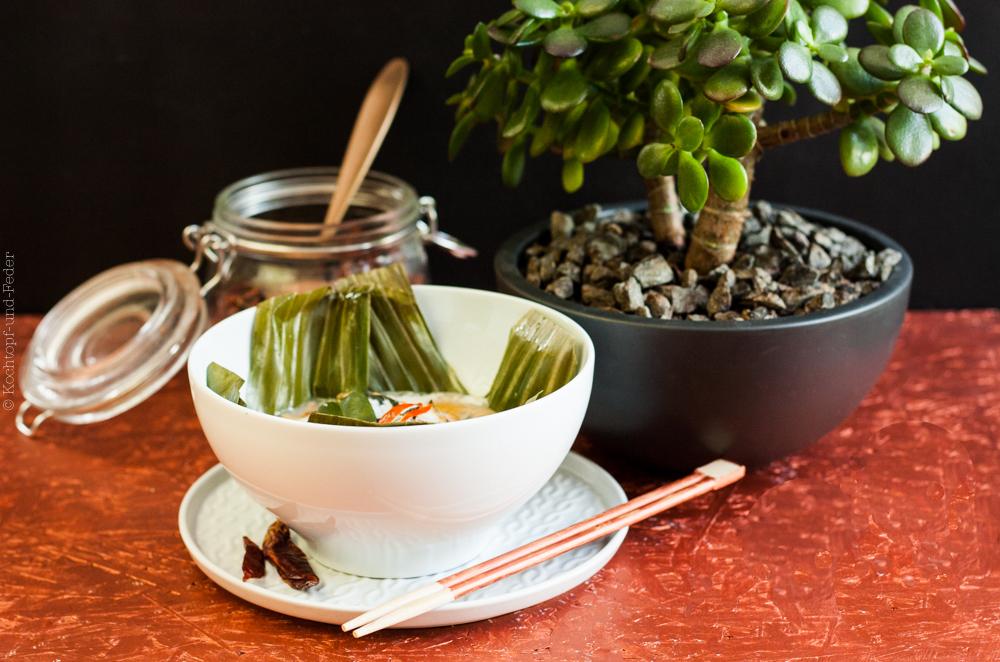 Asiatischer Fischauflauf –  Gedämpftes Fischcurry