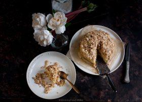 Rhabarbercheesecake